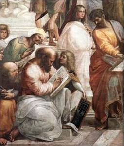 Escuela de Atenas, Raffaello Sanzio