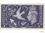 THE KING GEORGE VI VICTORY STAMP