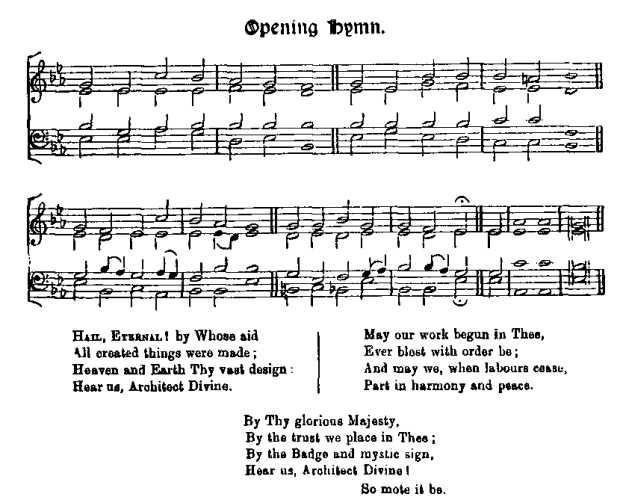 Opening Hymn score