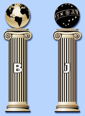 Image result for masonic columns
