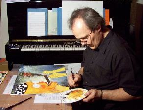 Ferenc SEBÖK at work