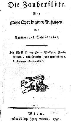 Libretto Originale