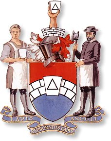 The Arms of the Grand Lodge of Mark Master Masons of England and Wales