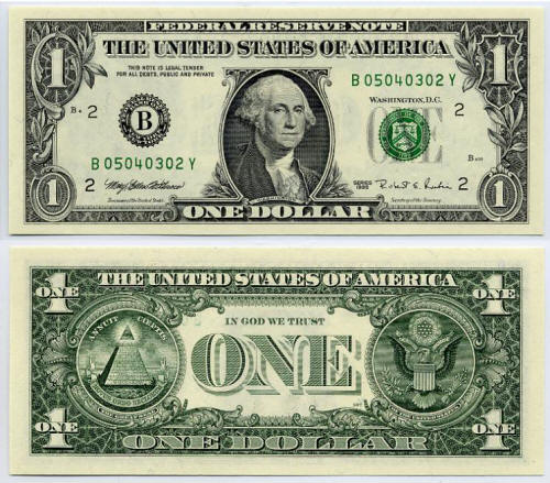 "THE ""MASONIC"" ONE DOLLAR: FACT OR FICTION?"